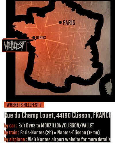 Hellfest's location