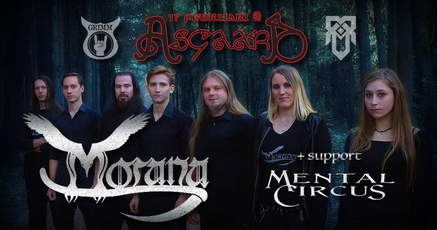 Morana and Mental Circus at Asgaard