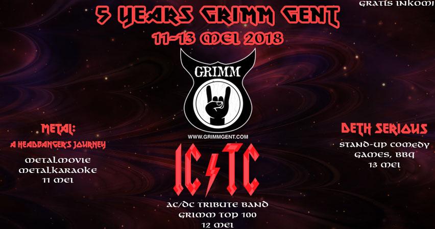 5 Years of GRIMM Gent festivities