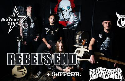 Rebel's End and Bearfighter live at Muziekcentrum Kinky Star