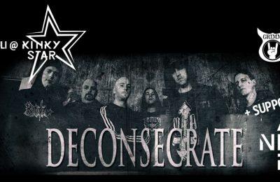 Deconsecrate and Ander live at Muziekcentrum Kinky Star