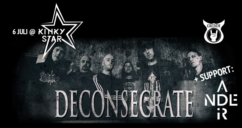 Deconsecrate and Ander live at Muziekcentrum Kinky Star