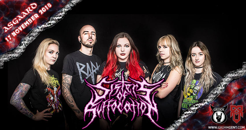 Sisters of Suffocation live at Asgaard