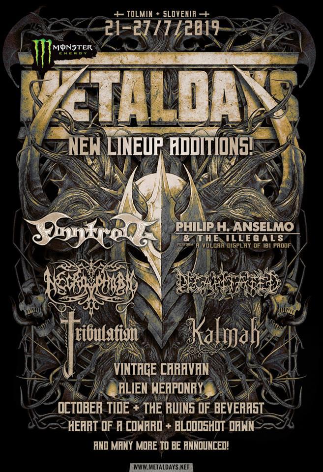 New announcement for MetalDays 2019