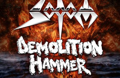 Sodom and Demolition Hammer at Alcatraz 2019!