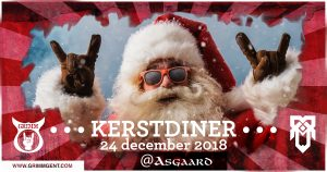 Kerstdiner at Asgaard