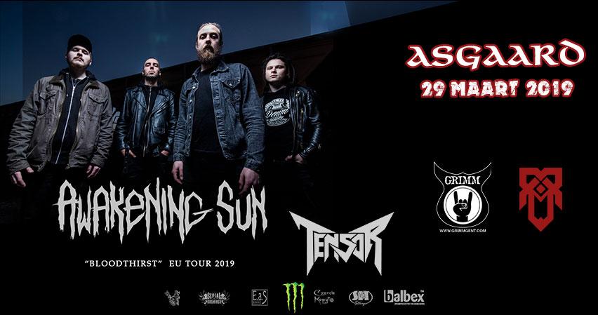 Awakening Sun and Tensor at Asgaard