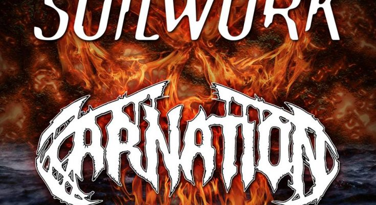 Soilwork and Carnation at Alcatraz 2019