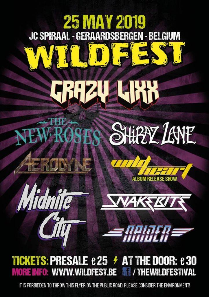 Wildfest 2019 lineup